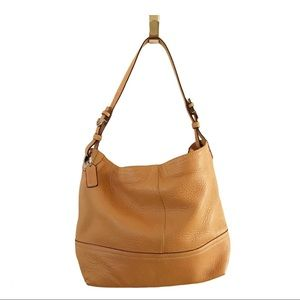 Coach Signature Pebbled Leather Hobo Bag M05S-5715